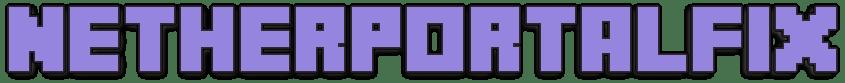 NetherPortalFix